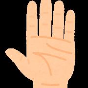 body_hand_tenohira手のひら