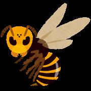 スズメバチのイラスト